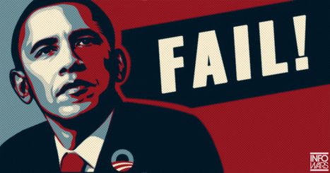 Obama 'Hope' Poster Artist Calls President a Failure | Xposing Government Corruption in all it's forms | Scoop.it