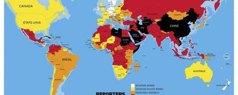 Classement mondial de la liberté de la presse 2016 : la paranoïa des dirigeants contre les journalistes | Reporters sans frontières | Actu des médias | Scoop.it