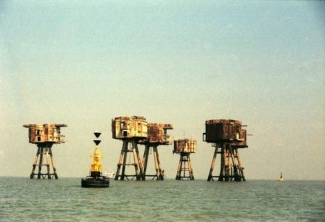 Maunsell Army Forts - When On Earth - Places to See, Things to Do, Gear to Get | Offbeat Travel | Scoop.it
