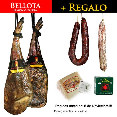 Adelanta tu jamón o paleta BELLOTA para Navidad y llévate un LOTE gourmet GRATIS - Jamonarium   jamon   Scoop.it