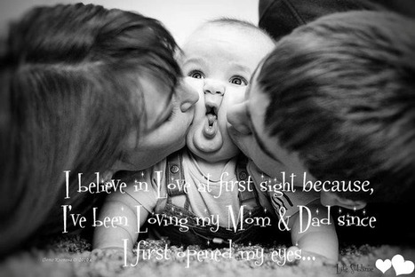 Beautiful kissing Pictures | inspiration photos | Babies and Children | Scoop.it