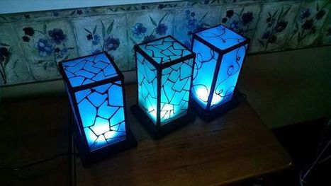Networked RGB Wi-Fi Decorative Touch Lights | Open Source Hardware News | Scoop.it