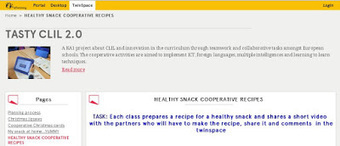 Tasty Clil 2.0: HEALTHY SNACK AND COOPERATIVE RECIPES | CLIL - Teaching Models, Strategies & Ideas - Modelos, Estrategias e Ideas para AICLE | Scoop.it