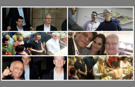 Tim Cook India Visit Photos: Glance Through the Landmark Visit | All About Apple iPhone,Mac Book,Apple Watch | Scoop.it
