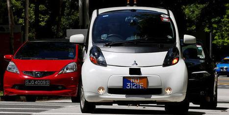 Les premiers taxis sans chauffeur roulent à Singapour | Wallgreen - Louez moins cher et passez au vert ! | Scoop.it