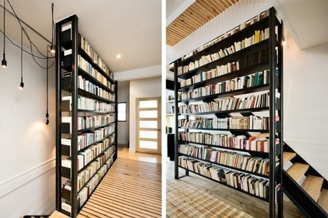 Place au shelfie! | Julie Champagne | Aménagement | Les bibliothèques | Scoop.it