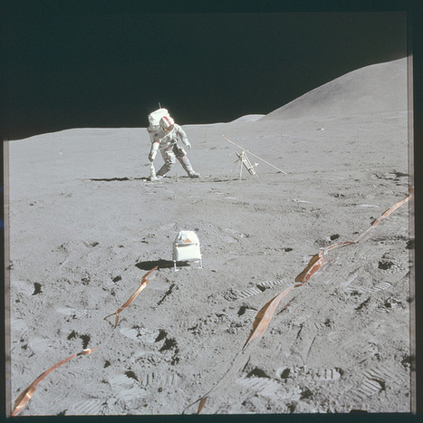 Every Moon Photo Shot by Apollo Astronauts is Now on Flickr   ♨ Family & Food ♨   Scoop.it
