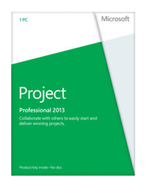 Microsoft Project  2013 Professional - 1 PC Download | Best Seller Products.... | Scoop.it