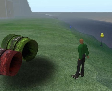 Students use virtual world to learn math –   Second Life and other Virtual Worlds   Scoop.it