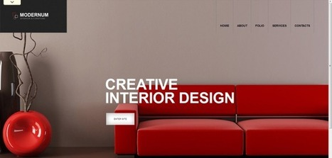 Beautiful Collection of WordPress Interior Design Themes | KGN Technologies | Scoop.it