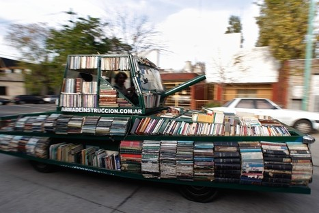 Can Clever Stunts and Street Literature Persuade More People to Read? | Literature & Psychology | Scoop.it