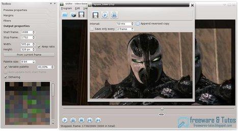 QGifer : un logiciel open source pour créer des GIF animés à partir de vidéos | Education & Numérique | Scoop.it