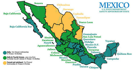 Is Mexico Safe? What the Numbers Say | Hecho en México | Scoop.it