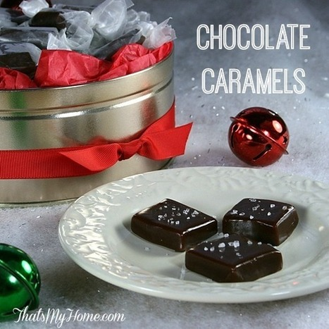 #Recipe Chocolate Caramels - Recipes, Food and Cooking   Food   Scoop.it