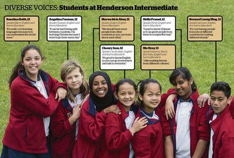 Superdiversity: Children lead the way as cultures combine - National - NZ Herald News   EdTechDesign   Scoop.it