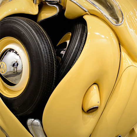 The Beetle Sphere: An Actual 1953 VW Beetle Formed into a Perfect Sphere by Ichwan Noor | Colossal | art | Scoop.it