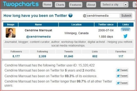 How long have you been on Twitter? | Business in a Social Media World | Scoop.it