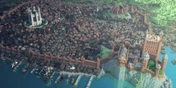 !!!!! Game of Thrones Fans Create Spectacular Minecraft Version of King's Landing | Wired.com | Tracking Transmedia | Scoop.it
