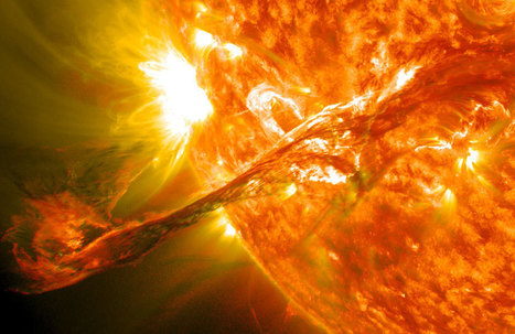 APOD: 2012 September 17 - A Solar Filament Erupts | Astronomy Domain | Scoop.it