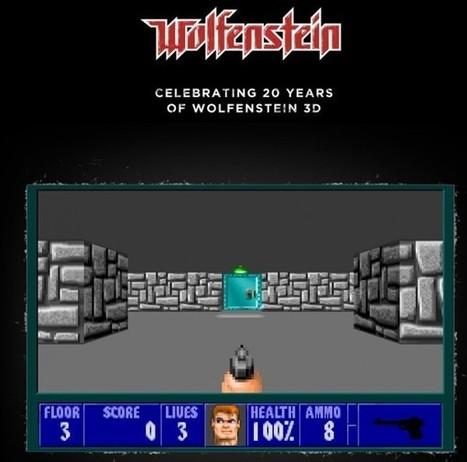 Wolfenstein celebra sus 20 años con una versión 3D gratuita en la web | VIM | Scoop.it