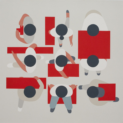 Geoff McFetridge's New Show 'Floating' at Cooper Cole   Creatives and more   Scoop.it