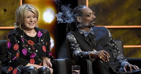 Dreams come true: Snoop Dogg smoked weed with Martha Stewart | Prozac Moments | Scoop.it