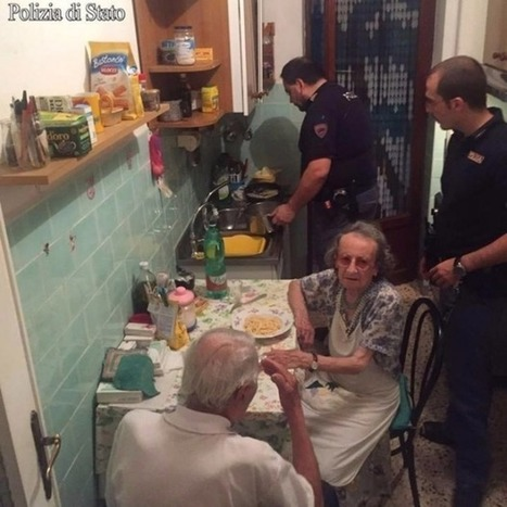 Italian police solve elderly couple's distress with some kindness & cooking | Daily News Reads | Scoop.it