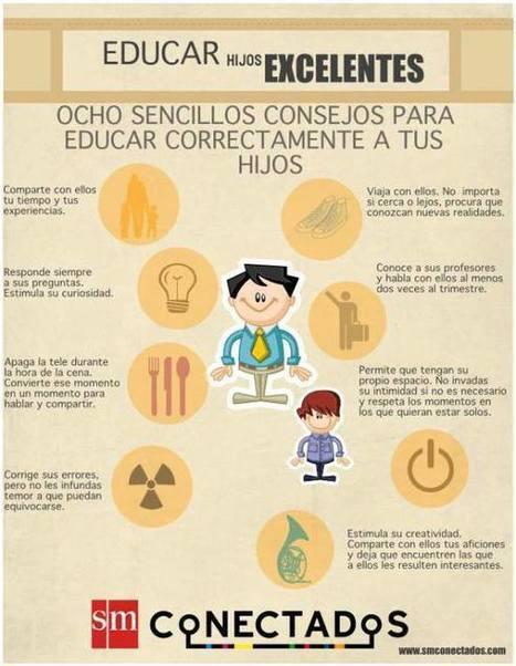 8 Consejos para Educar mejor a los Hijos   Educación con Innovación   Scoop.it