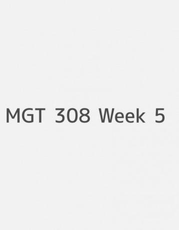 MGT 311 ENTIRE COURSE – ExamTutorials.com | uop | Scoop.it