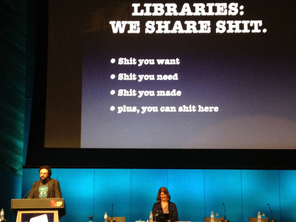Libraries: we share shit | Paid content or not | Scoop.it