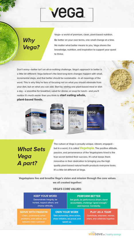 Buy Vega Protein Supplements Online in Canada at Vitasave.ca | Vega One Protien Powder | my article | Scoop.it