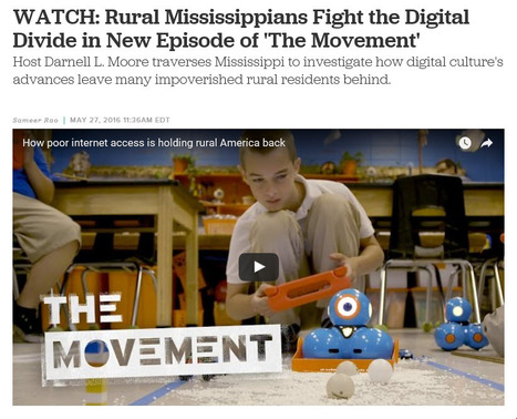 WATCH: Rural Mississippians Fight the Digital Divide in New Episode of 'The Movement' | Colorlines Magazine | 05/27/2016 | Hillary In 2016 | Scoop.it