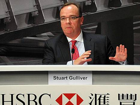 HSBC Stuart Gulliver to get 70% pay rise - taking his salary to £4.2m a year | Market Failure | Scoop.it