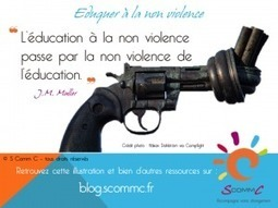 S Comm C, le blog » Blog Archive » Eduquer à la non violence | Citations | Scoop.it