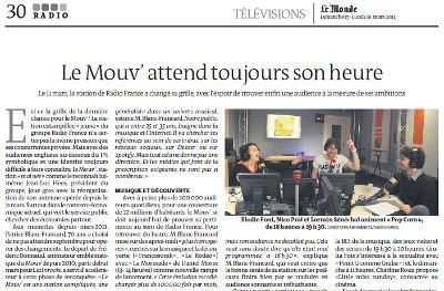 Le Mouv' attend toujours son heure | DocPresseESJ | Scoop.it
