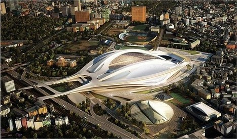 morfoLL: New National Stadium Japan - Zaha Hadid Architects (Competition winner) | Architecture and Design | Scoop.it