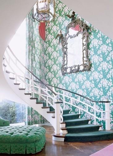 Decoración de interiores en verde oscuro, fotos e ideas. | | Decoración de interiores | Scoop.it