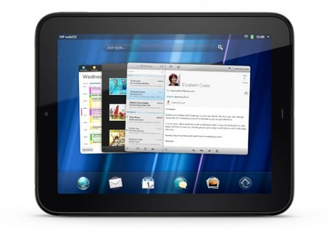 HP launches TouchPad tablet with webOS - TechDay | openwebOS | Scoop.it