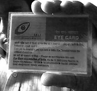My Eye Donation Card | eyedonation | Scoop.it
