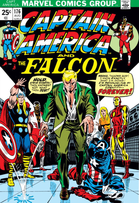 """Super-Blog Team Up Presents: Longbox Graveyard """"The Day They Walked Away"""" Featuring Captain America! Part 2 of 6 