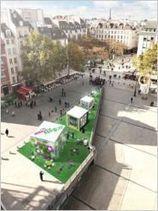 Leroy Merlin investit le parvis du centre Pompidou | L'Etablisienne, un atelier pour créer, fabriquer, rénover, personnaliser... | Scoop.it
