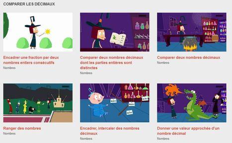 Nombres - Les animations des Fondamentaux - Réseau Canopé | Ressources numériques | Scoop.it