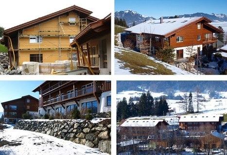 Isolation fibre de bois... en montagne | Ageka les matériaux pour la construction bois. | Scoop.it