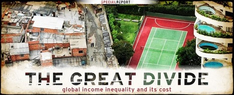 The Great Divide: Global income inequality and its cost | Interesting Reading to learn English -intermediate - advanced (B1, B2, C1,) | Scoop.it
