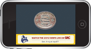 Watch the Wrangler National Finals Rodeo Live on GAC : Great American Country | National Final Rodeo | Scoop.it