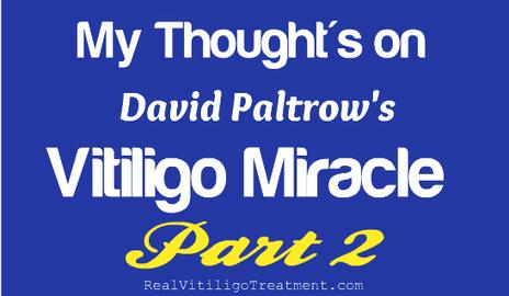 Vitiligo Miracle Review Part Two – Chapters 1 and 2 - The Vitiligo Girl   Vitiligo   Scoop.it
