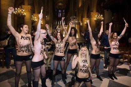 Notre-Dame de Paris porte plainte contre les Femen | ACTU POLITIQUE | Scoop.it