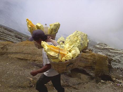 El oficio mas duro del mundo: Los trabajadores del infierno en la tierra | Infraestructura Sostenible | Scoop.it