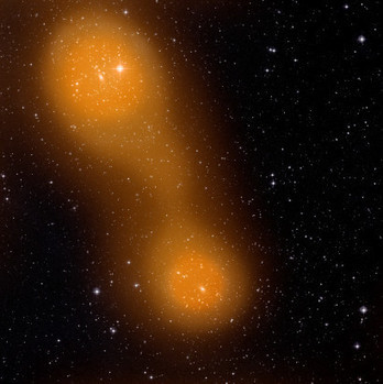 ESA Science & Technology: Planck discovers filament of hot gas linking two galaxy clusters | Astronomy news | Scoop.it