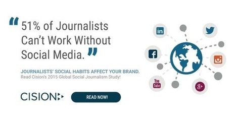 How Social Media Is Paving a New Path for Journalism | Cision | B2B Marketing and PR | Scoop.it